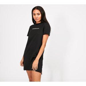 Calvin Klein Jeans Womens Organic Cotton T-shirt Dress 40364024 , Black