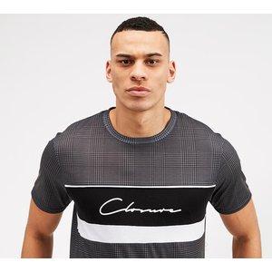 Closure London Check Script T-shirt 40417644, Black