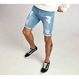 Apt Jeans Geno Ripped Skinny Short 1255351 Mens Outerwear