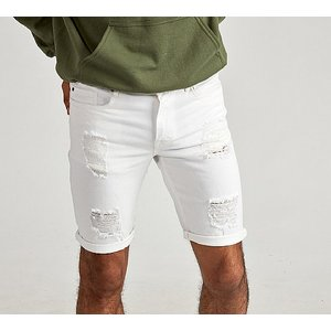Apt Jeans Geno Ripped Skinny Short 1255376 Mens Outerwear