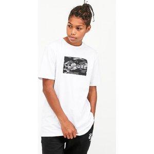 Closure London Junior Camo Block Logo T-shirt 4052730102 Childrens Clothing