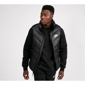 Nike Down Men's Black Fill Gilet Jacket 1262153 , Black