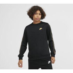 Nike Junior Repeat Tape Crewneck Sweatshirt 40308046 , Black