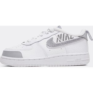 Nike Nursery Air Force 1 'under Construction' Trainer 40303796 , White