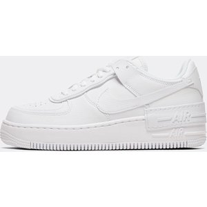 Nike Womens Air Force 1 Shadow Trainer - White - Size - 5.5 403096810