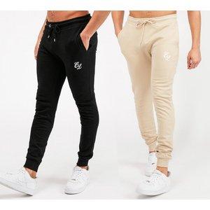 Closure London Pack Of 2 Jog Pant 40417713 Mens Trousers