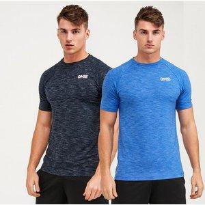Gym365 Pack Of 2 Slub T-shirt 4055043103 Mens Tops