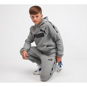 Puma Junior Amplified Taped Hoodie 402676211 , Grey