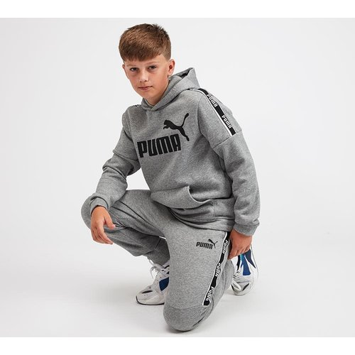Puma Junior Amplified Taped Hoodie 40267628, Grey