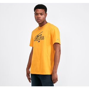 Tommy Jeans Script T-shirt - Yellow - Size - S 40205953
