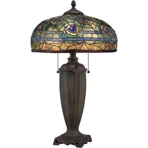 Bronze Desk Lamp - 2 X 60w E27 By Happy Homewares HA002008 Lighting, Bronze
