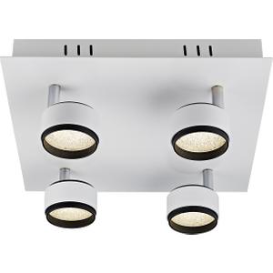 Contemporary Matt White Led Ceiling Spot Light Fitting By Happy Homewares HA1900 20WWH HA1900 20WWH Lighting, White