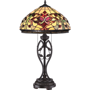 Imperial Bronze Table Lamp - 2 X 75w E27 By Happy Homewares HA001980 Lighting
