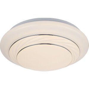 Modern Led Ip44 Rated Bathroom Flush Ceiling Light With Opal Diffuser By Happy Homewares White HA30 WHITE HA30 WHITE Lighting, White