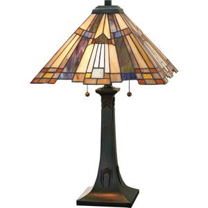 Valiant Bronze Table Lamp - 2 X 60w E27 By Happy Homewares HA001961 Lighting