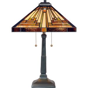 Vintage Bronze Table Lamp - 2 X 60w E27 By Happy Homewares HA002069 Lighting