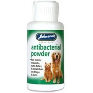 Johnsons Anti Bacterial Wound Powder 845427 Pets