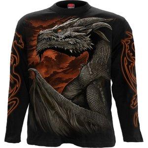 Spiral Majestic Draco Longsleeve T-shirt Black L043m301 5, Black