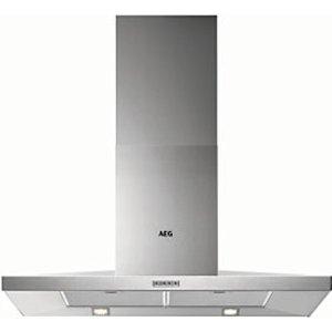 Aeg 90cm Chimney Stainless Steel Cooker Hood Dkb4950m
