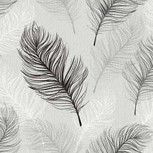 Arthouse Whisper Black & White Wallpaper 10.05m X 53cm