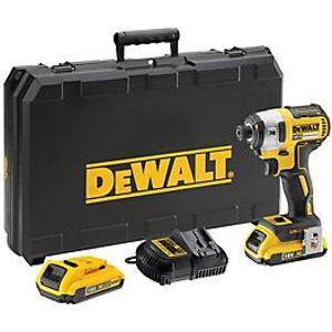 Dewalt Dcf887d2-gb 18v 2.0ah Cordless Brushless Impact Driver