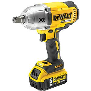 Dewalt Dcf899p2-gb 18v Xr 2 X 5.0ah Cordless Brushless High Torque Impact Wrench