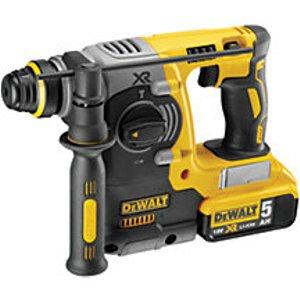Dewalt Dch273p2-gb 18v Xr 2 X 5.0ah Cordless Brushless Sds+ Hammer Drill