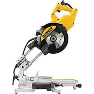 Dewalt Dws774 216mm Corded Sliding Mitre Saw - 1400w
