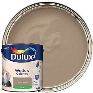 Dulux - Brave Ground - Colour Of The Year 2021 Silk Emulsion Paint-2.5l