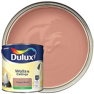 Dulux - Copper Blush - Silk Emulsion Paint 2.5l
