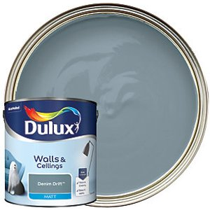 Dulux - Denim Drift - Matt Emulsion Paint 2.5l