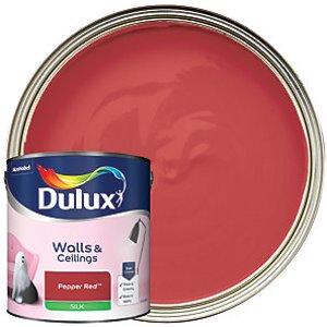 Dulux - Pepper Red - Silk Emulsion Paint 2.5l