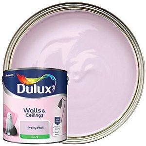 Dulux - Pretty Pink - Silk Emulsion Paint 2.5l