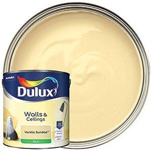 Dulux - Vanilla Sundae - Silk Emulsion Paint 2.5l