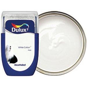 Dulux - White Cotton - Emulsion Paint Tester Pot 30ml