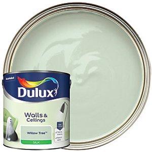 Dulux - Willow Tree - Silk Emulsion Paint 2.5l