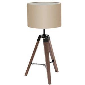 Eglo Table Lamp Black/taupe 'lantada'