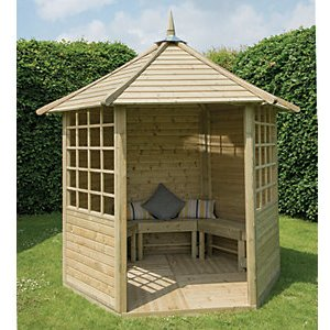 Forest Garden Arden Timber Gazebo - 2810 X 2450 Mm - With Assembly