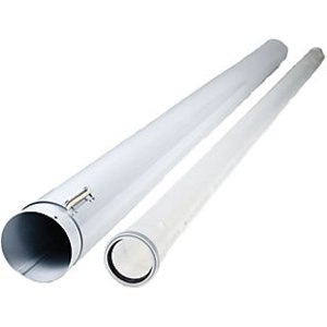 Heatline Boiler Air/flue Duct Extension Pipe - 2m