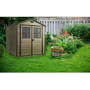 Keter Scala Plastic Shed 6x8ft