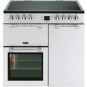 Leisure Cookmaster 90cm Electric Range Cooker - Silver