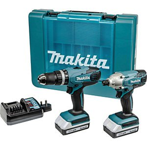 Makita Dk18015x1 18v Li-ion G-series Combi Drill & Impact Driver Kit