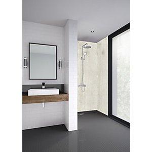 Mermaid Panels Ltd Mermaid Cubist Laminate Single Shower Panel - 2400 X 1200mm