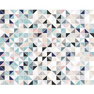 Ohpopsi Geometric Triangles Wall Mural - Xl 3.5m (w) X 2.8m (h)