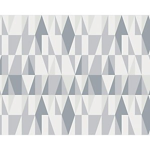 Ohpopsi Grey Scandi Nordic Geometric Wall Mural - Xl 3.5m (w) X 2.8m (h)