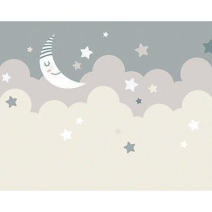 Ohpopsi Nighttime Children?s Sky Wall Mural - Xl 3.5m (w) X 2.8m (h)