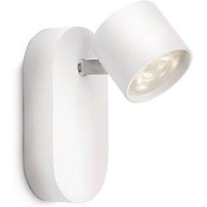 Philips Star Led White Single Wall Spotlight -  3w