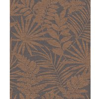 Superfresco Easy Fenne Dark Rust Brown Wallpaper 10m