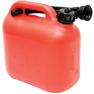G J Handy The Handy Red Plastic Fuel Can - 5l