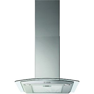 Electrolux Wickes 60cm Curved Glass Designer Cooker Hood